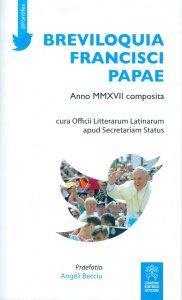 Copertina di 'Breviloquia Francisci papae'