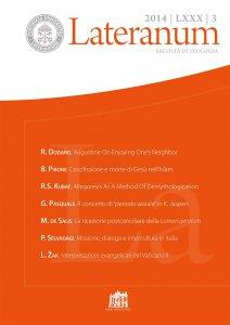 Copertina di 'L'interrogativo teologico posto alla storia dal concetto di periodo assiale in Karl Jaspers'