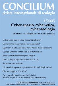 Copertina di 'Cyber-spazio, cyber-etica, cyber-teologia'