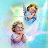 """Mini puzzle """"Angelo di Dio"""" (12 pezzi)"""