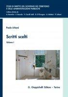Scritti scelti - Paolo Urbani