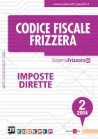 Codice Fiscale Frizzera Imposte Dirette 2/2014 - Redazione Frizzera