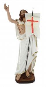 Copertina di 'Statua Gesù Risorto in gesso dipinta a mano - 40 cm'
