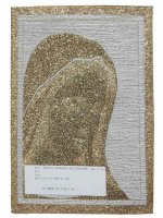 """Immagine di 'Arazzo sacro """"Madonna di Medjugorje""""- dimensioni 25x17,5 cm'"""