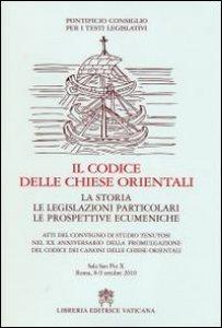 Copertina di 'Il codice delle chiese orientali'