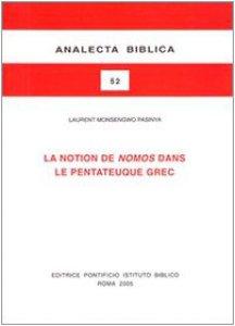 Copertina di 'La notion de nomos dans le Pentateuque grec'
