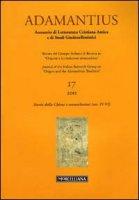 Adamantius. Notiziario del Gruppo italiano di ricerca su «Origene e la tradizione alessandrina»