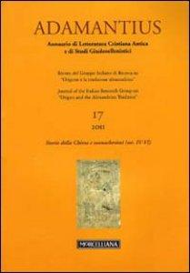 Copertina di 'Adamantius. Notiziario del Gruppo italiano di ricerca su «Origene e la tradizione alessandrina»'