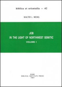 Copertina di 'Job in the light of northwest semitic'