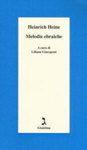 Copertina di 'Melodie ebraiche'