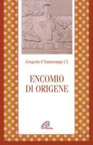 Copertina di 'Encomio di Origene'