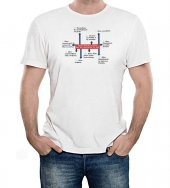 T-shirt 10 comandamenti - Taglia M - UOMO