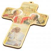 "Croce in legno ""I tre Papi"""