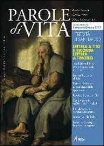 Copertina di 'Parole di vita (2012). Lettera a Tito e seconda lettera a Timoteo'