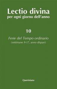 Copertina di 'Lectio divina per ogni giorno dell'anno [vol_10]'