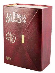 Copertina di 'La Bibbia di Gerusalemme (tascabile - copertina in plastica con bottone)'