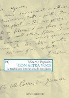 Con altra voce - Edoardo Esposito