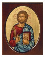 """Icona """"Gesù Cristo datore di vita"""" (cm 8 x 10,5)"""