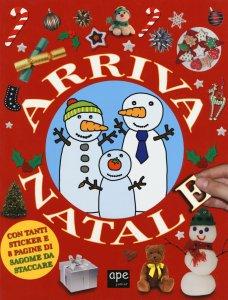 Copertina di 'Arriva Natale. Con adesivi'