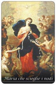 Copertina di 'Immagine Maria che scioglie i nodi in PVC - 5,5 x 8,5 cm'