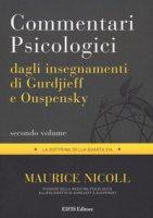 Commentari psicologici dagli insegnamenti di Gurdjieff e Ouspensky - Nicoll Maurice