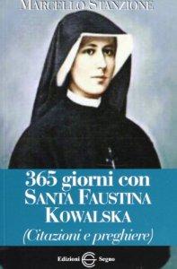 Copertina di '365 giorni con Santa Faustina Kowalska'