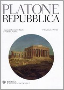 Copertina di 'Repubblica. Testo greco a fronte'