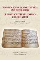 Written sources about Africa and their study - Lafkioui, Mena , Brugnatelli, Vermondo