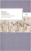 Sofista. Testo greco a fronte - Platone