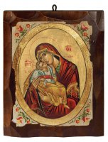 "Icona ""Madonna dolce amore"" (cm 16 x 20)"