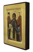 Immagine di 'Icona San Gabriele Arcangelo, produzione greca su legno - 18 x 14 cm'