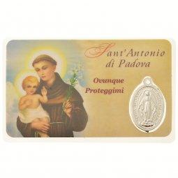 Copertina di 'Card medaglia Sant'Antonio di Padova (10 pezzi)'