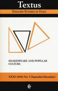 Copertina di 'Textus. English studies in Italy (2018)'