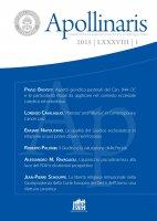 Enti ecclesiastici ed Enti canonici in Italia: tutela costituzionale e legislativa - Marcello Volpe