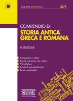 Compendio di Storia antica Greca e Romana - Redazioni Edizioni Simone