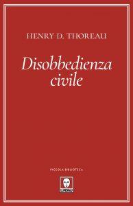 Copertina di 'Disobbedienza civile'