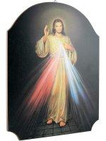 """Quadro in legno """"Gesù misericordioso"""""""