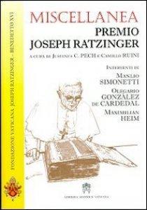 Copertina di 'Miscellanea Premio Joseph Ratzinger'