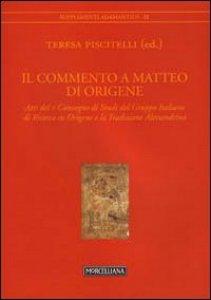 Copertina di 'Il commento a Matteo di Origene'