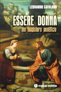 Copertina di 'Essere donna nel magistero pontificio.'