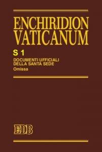 Copertina di 'Enchiridion Vaticanum. S1'