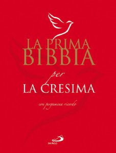 Copertina di 'La Prima Bibbia per la Cresima'