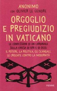 Copertina di 'Orgoglio e pregiudizio in Vaticano'
