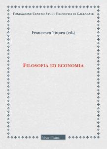 Copertina di 'Filosofia ed economia'
