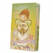 Immagine di 'Confezione ricordo Comunione con rosario e libricino di preghiere'