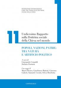 Copertina di 'Undicesimo rapporto sulla dottrina sociale della Chiesa nel mondo'