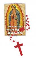 """Libretto """"Il Santo Rosario"""" della Madonna di Guadalupe e rosario"""