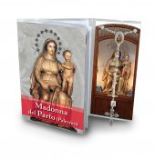 Libretto con rosario Madonna del parto - italiano