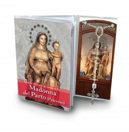 Copertina di 'Libretto con rosario Madonna del parto - italiano'