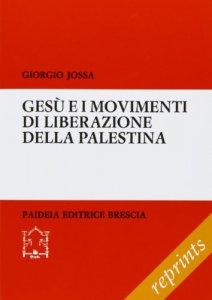 Copertina di 'Gesù e i movimenti di liberazione della Palestina'